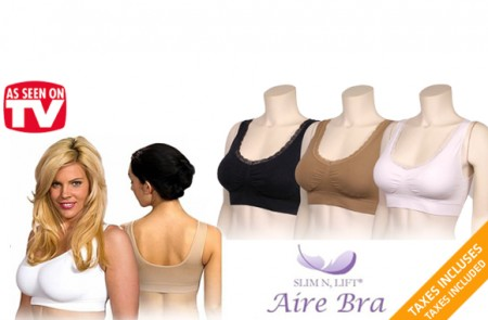 Slim' N Lift Aire Bras