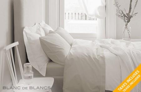 Blanc de Blancs 1000 TC Cotton rich sheet set