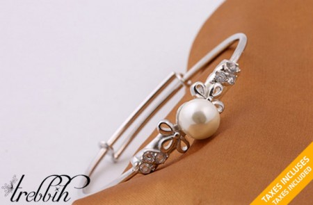 Dana Pearl Adjustable Bracelet