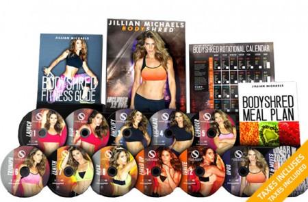 Jillian Michaels Bodyshred Training DVD collection