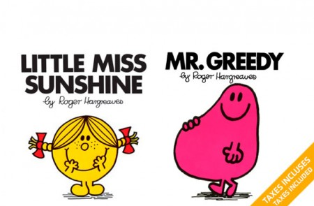 the Little Miss and Mr Men collection