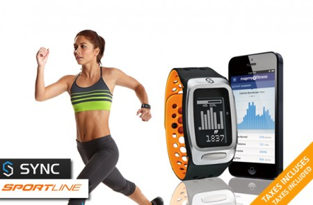Sportline SYNC FIT fitness band
