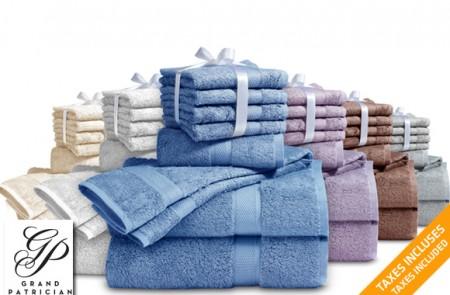 Supima cotton towel set