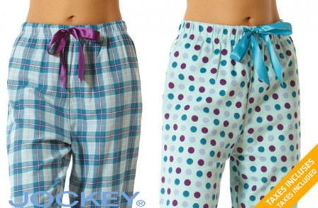 flannel PJ pants by Jockey