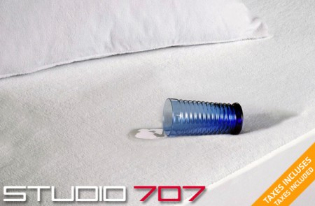 waterproof cotton terry mattress protector