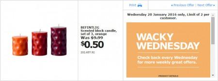 IKEA - Calgary Wacky Wednesday Deal of the Day (Jan 20) A