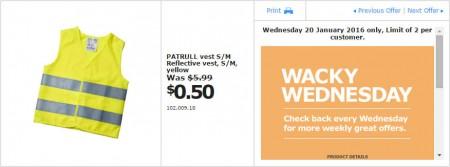 IKEA - Calgary Wacky Wednesday Deal of the Day (Jan 20) B