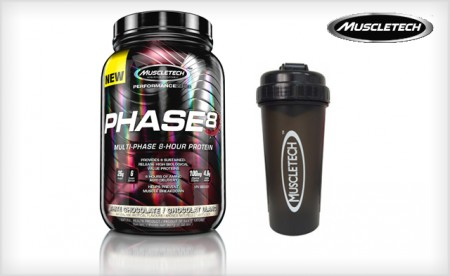 MuscleTech Phase8 White Chocolate Protein