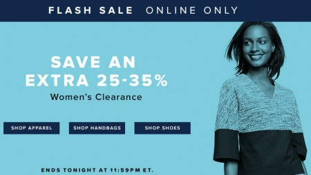 TheBay Flash Sale - Extra 25-35 Off Women's Clearance (Jan 13)