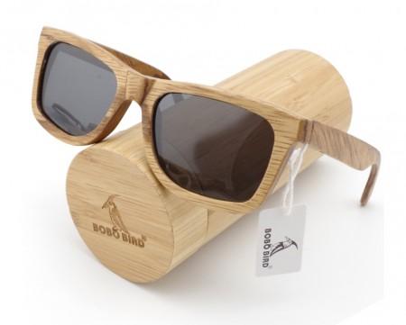 Bamboo Wayfarer Sunglasses