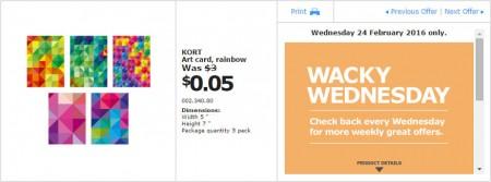 IKEA - Calgary Wacky Wednesday Deal of the Day (Feb 24) D
