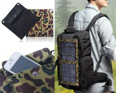 Portable USB Solar Charging Panel