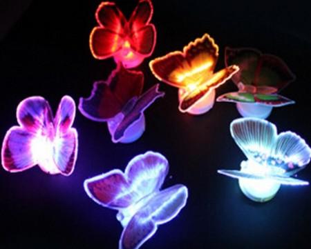 3D LED Butterfly Night Lights
