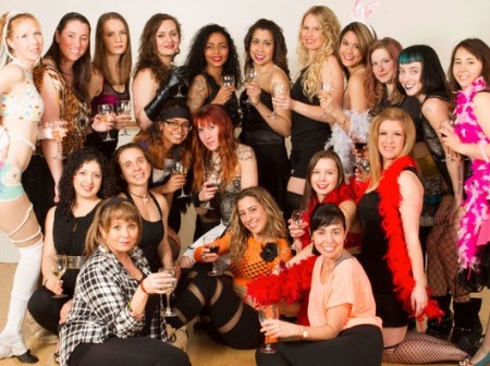Burlesque & Wine Night Out at Free Spirit Dance