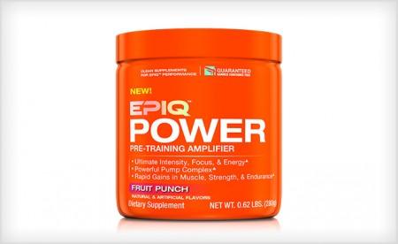 EPIQ: $19 for an EPIQ Power Pre-Workout + Free Draw String ...