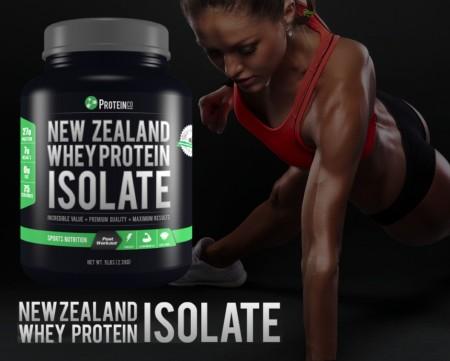 ProteinCo New Zealand Whey Protein Isolate