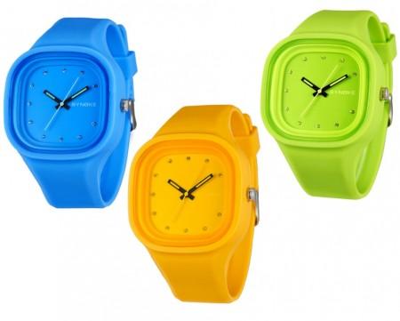 Unisex Silicone Wristwatch