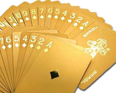 24K Gold Plated or Silver Plated Playing Cards