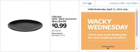 IKEA - Calgary Wacky Wednesday Deal of the Day (Apr 13) A