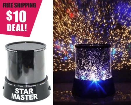 Stars Night Projector