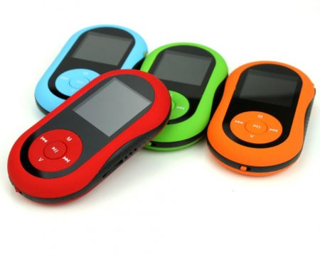 Clip On MP3 Player
