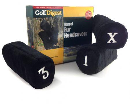 Golf Barrel Fur Head Covers