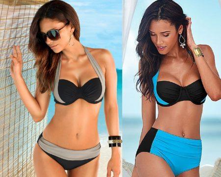Halter Neck Two Piece Bikini