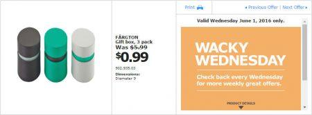 IKEA - Calgary Wacky Wednesday Deal of the Day (June 1) B