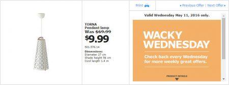 IKEA - Calgary Wacky Wednesday Deal of the Day (May 11) A