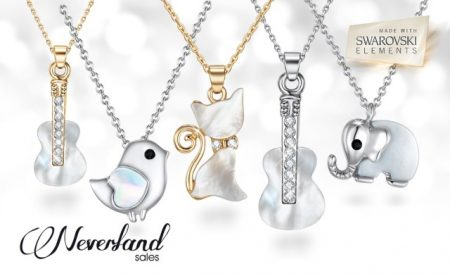 Kitty and Dove Necklaces