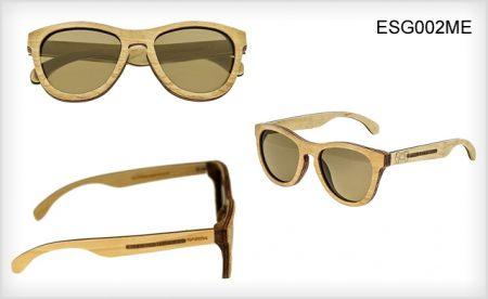 Polarized Earth Wood Sunglasses
