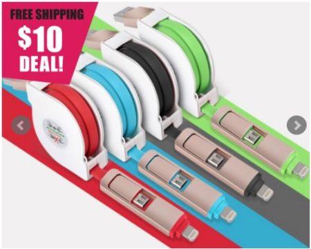 Retractable Micro USB
