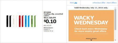 IKEA - Calgary Wacky Wednesday Deal of the Day (July 13) A