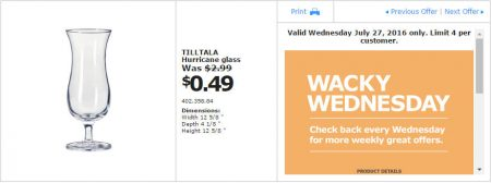 IKEA - Calgary Wacky Wednesday Deal of the Day (July 27) B
