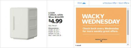 IKEA - Calgary Wacky Wednesday Deal of the Day (Aug 24) B