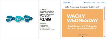 IKEA - Calgary Wacky Wednesday Deal of the Day (Sept 7) B